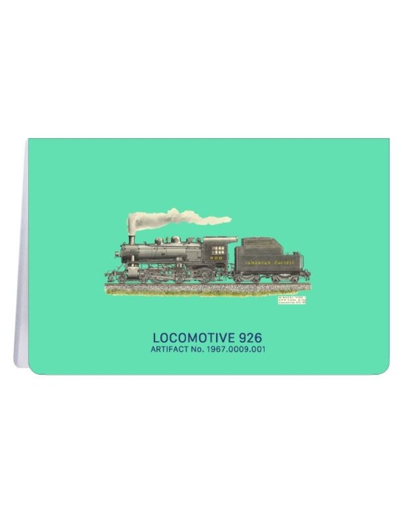 Locomotive 926 - Soft Cover Notebook