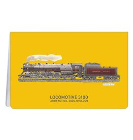 Locomotive 3100 - Soft Cover Notebook