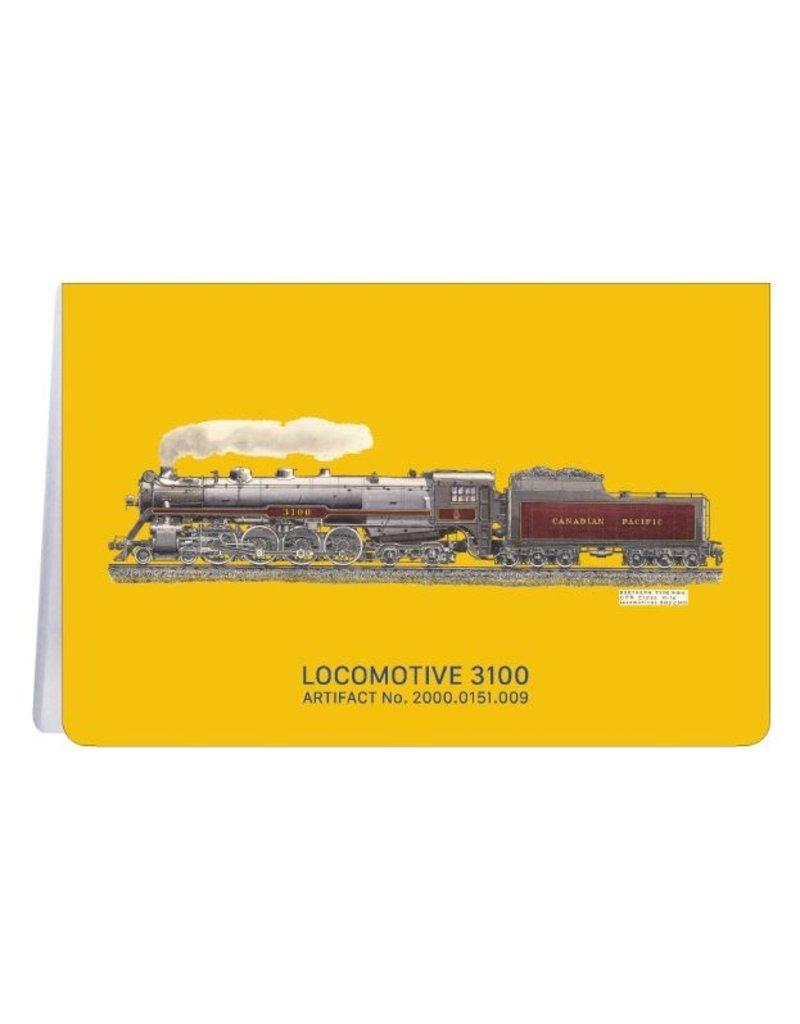 Locomotive 3100 - Carnet de notes