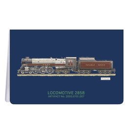 Locomotive 2858 - Soft Cover Notebook