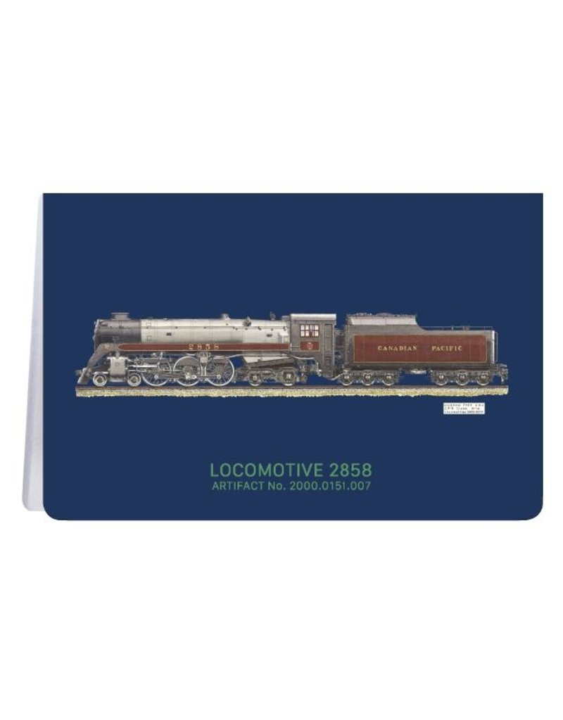 Locomotive 2858 - Carnet de notes