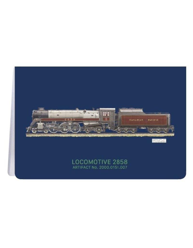 Locomotive 2858 - Soft Cover Notebook