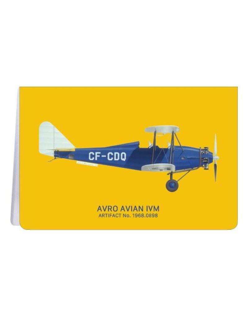 Avian d'Avro - Carnet de notes