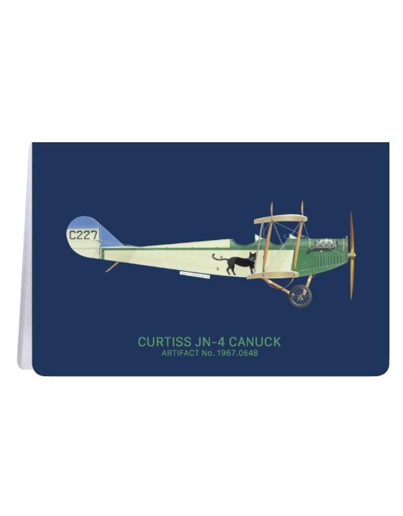 Canuck de Curtiss - Carnet de notes