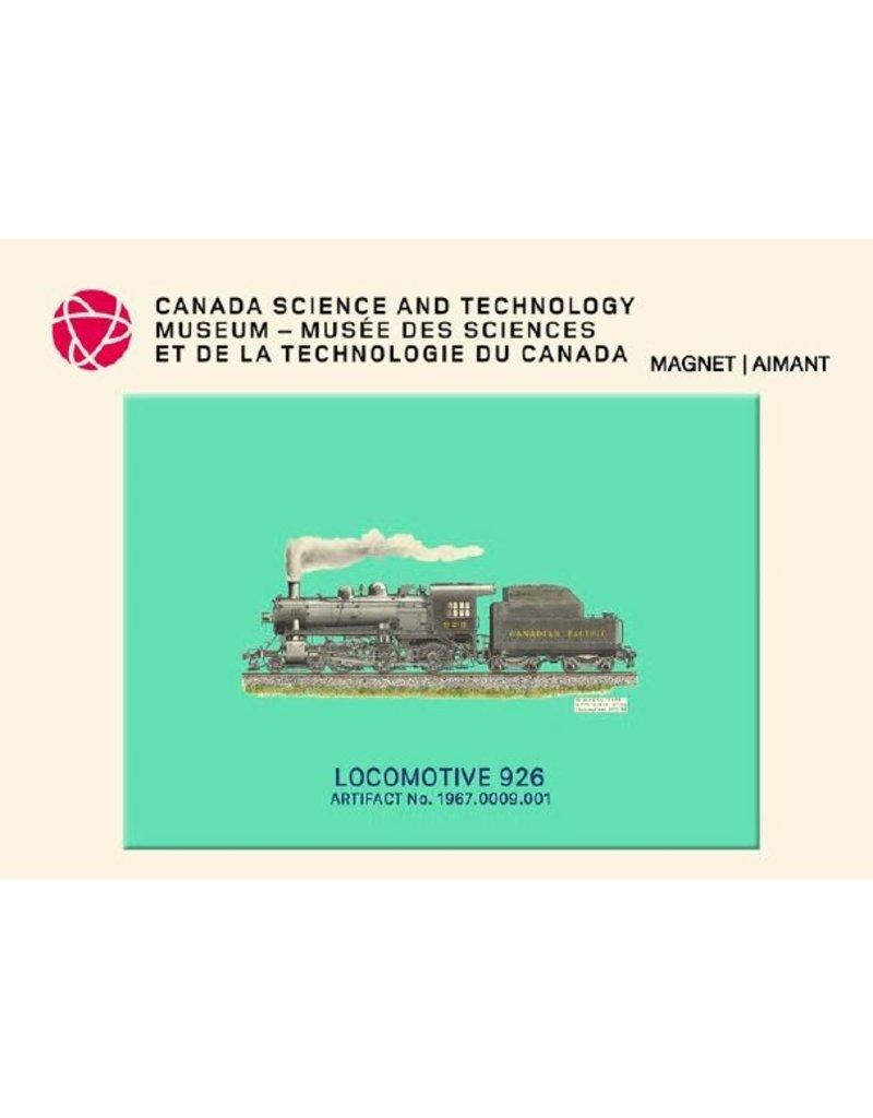 Aimant de la locomotive 926
