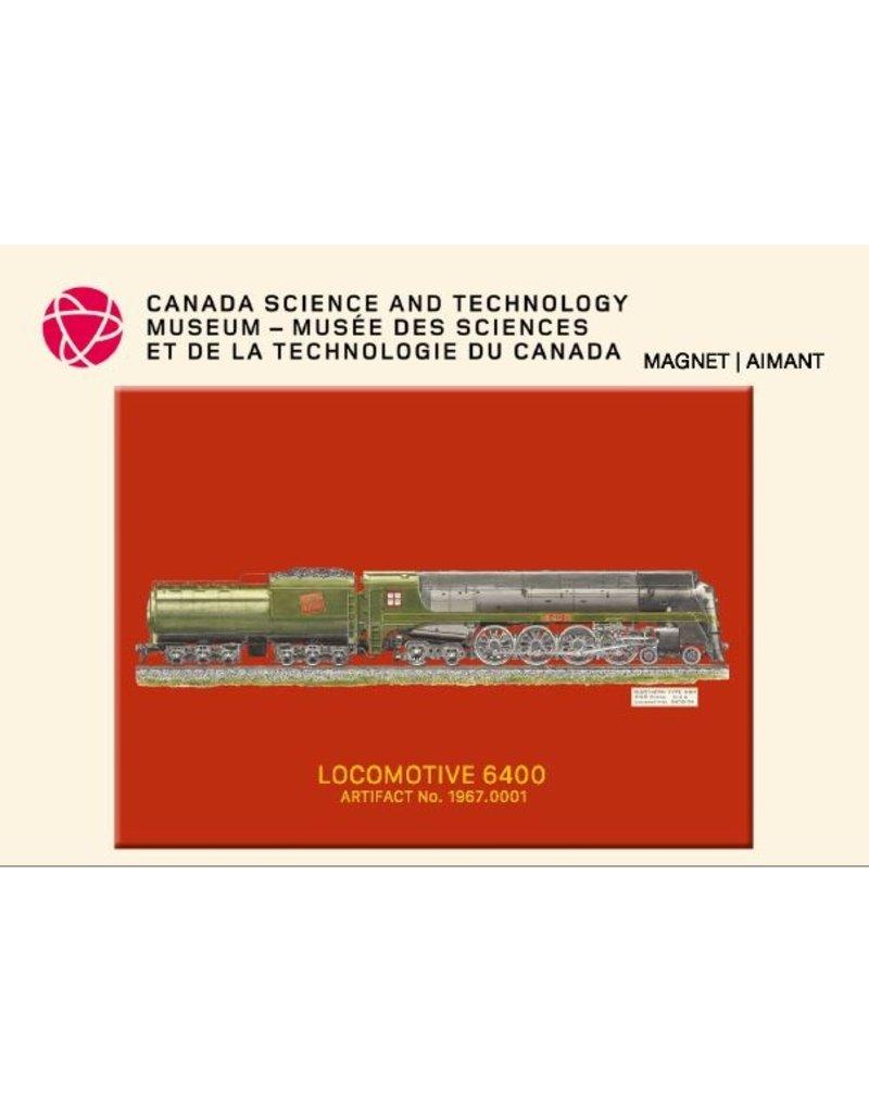 Aimant de la locomotive 6400