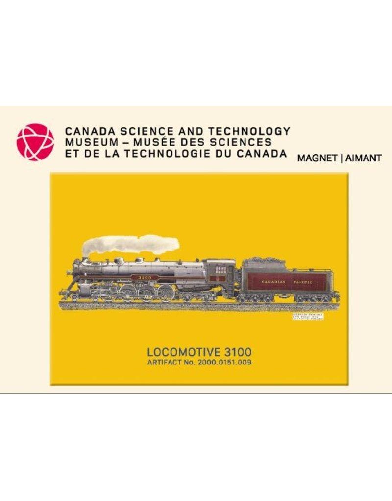 Aimant de la locomotive 3100