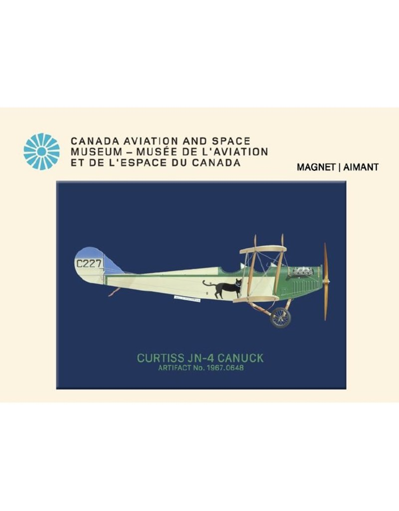 Aimant Canuck de Curtiss