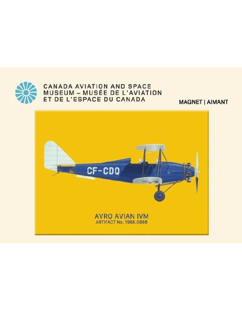 Carded Magnet Avro Avian