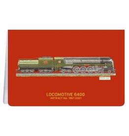 Locomotive 6400 - Carnet de notes