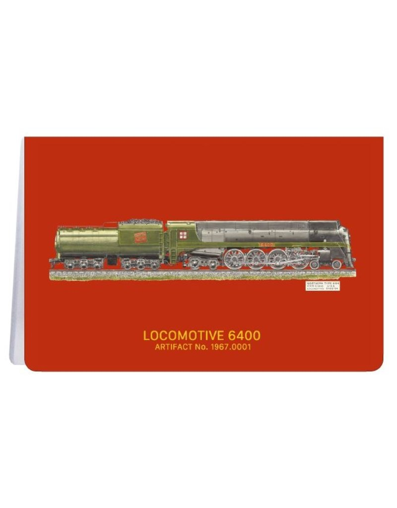 Locomotive 6400 - Carnet de notes