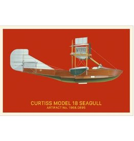 Postcard Curtiss Seagull