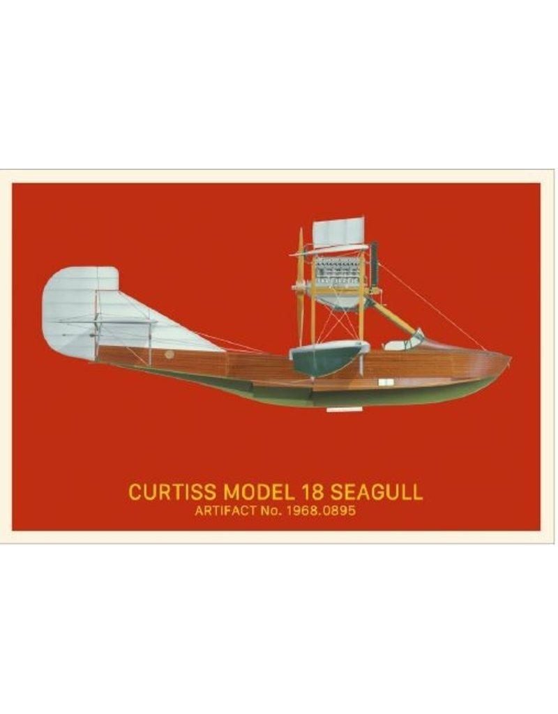 Postcard Curtiss Seagull