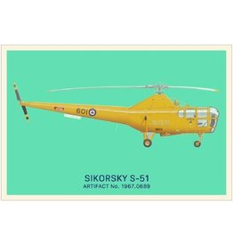 Postcard Sikorsky