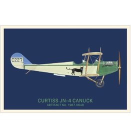 Carte postale Canuck de Curtiss