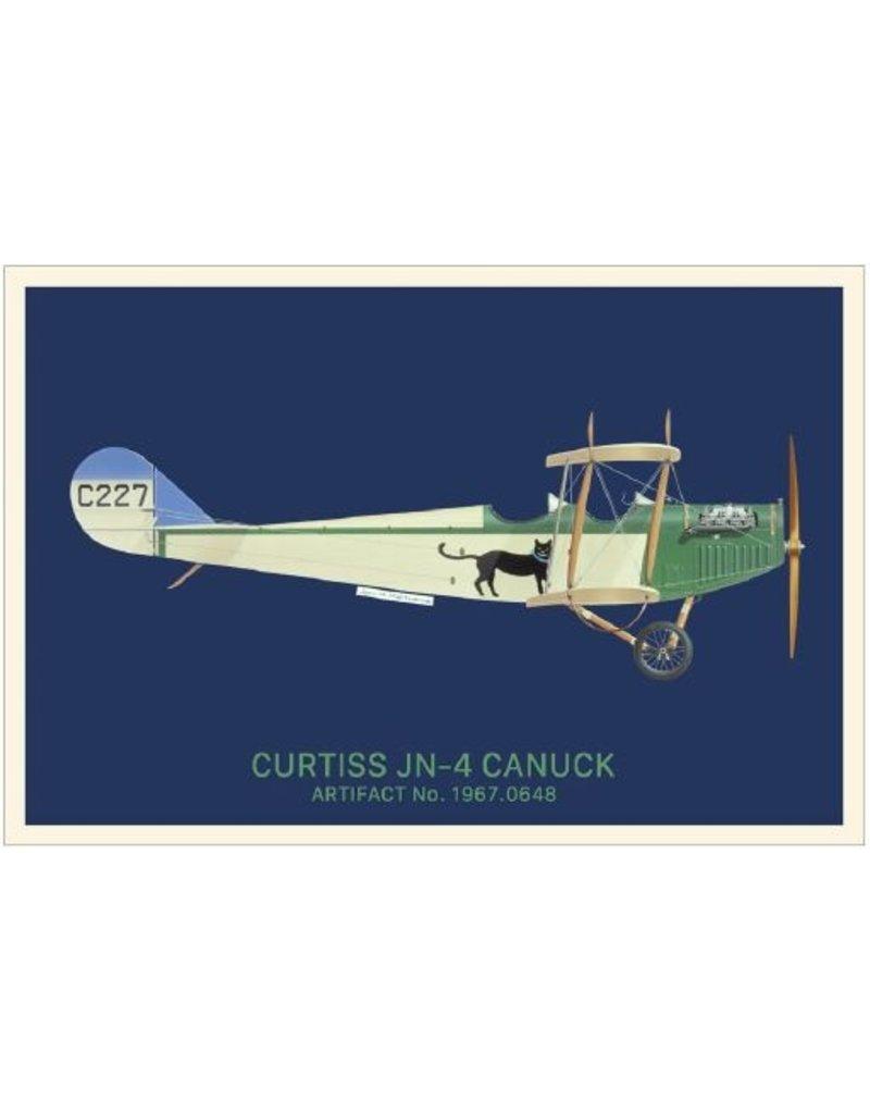 Carte postale Canuck de Curtiss