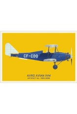 Postcard Avro Avian