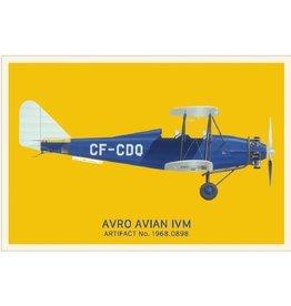 Carte postale d'Avro Avian