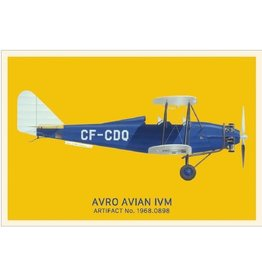 Postcard Avro Avian