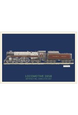 Postcard Locomotive 2858