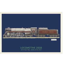 Postcard Locomotive 2858