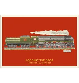 Postcard Locomotive 6400