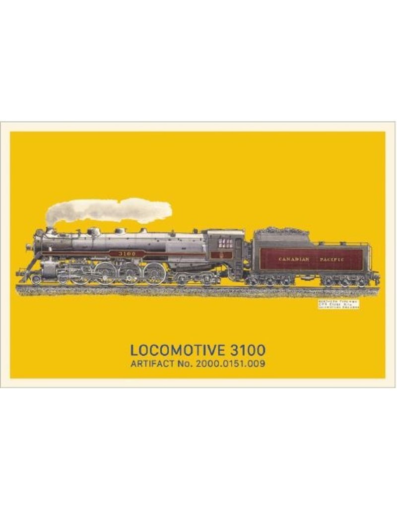 Postcard Locomotive 3100