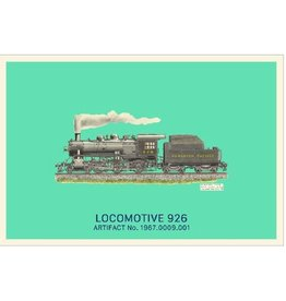 Carte postale de la locomotive 926
