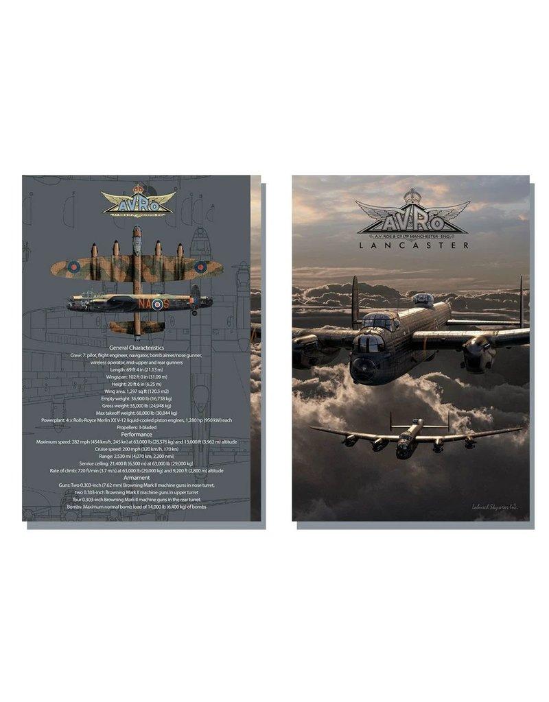 Avro Lancaster Hard Cover Journal