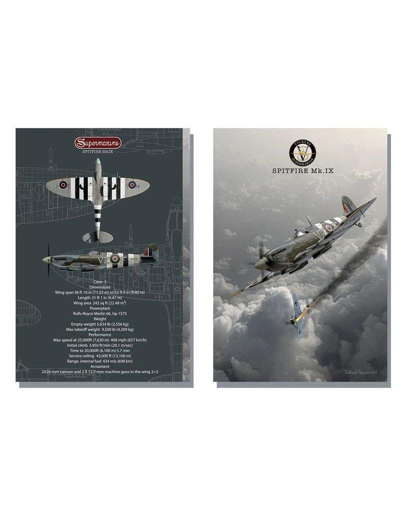 Carnet de note Spitfire MKIX