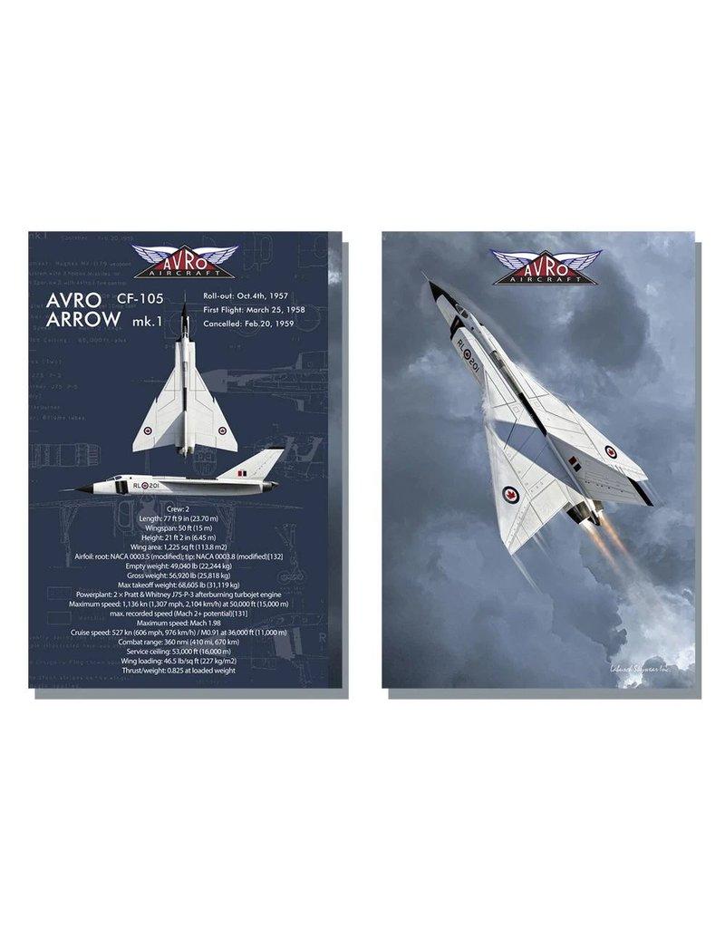 Carnet de note Arrow d'Avro