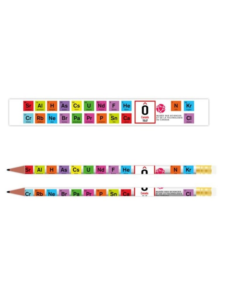 Periodic Table Pencil - French