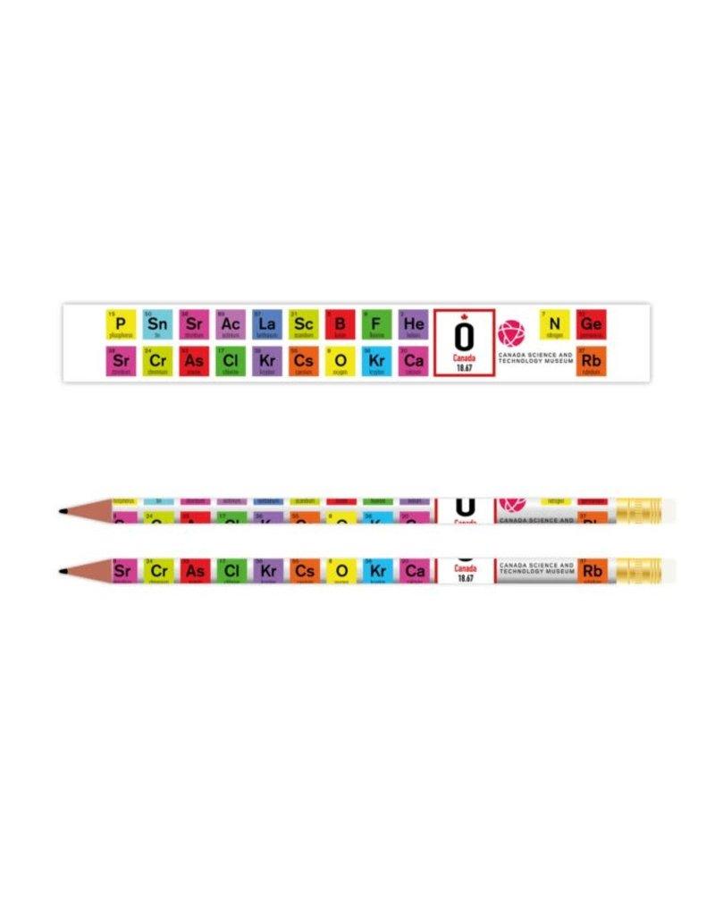 Periodic Table Pencil