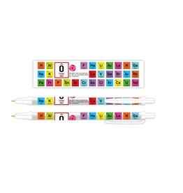 Periodic Table Ballpoint Pen - French