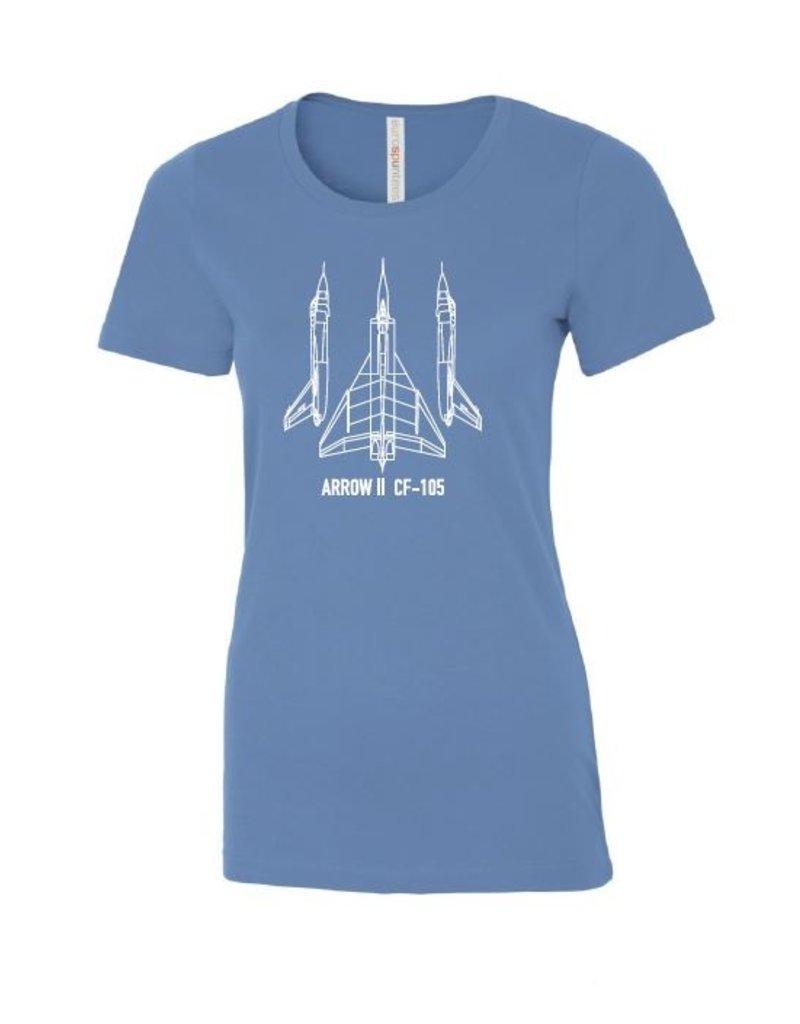 T-shirt imprimé pour femme Arrow d'Avro