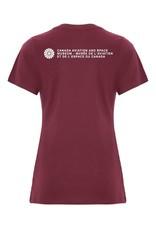 T-shirt d'aspect usé pour femme Arrow d'Avro