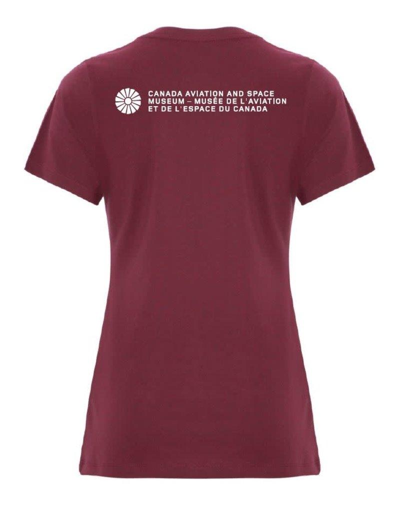 Women's Avro Arrow Distressed T-Shirt