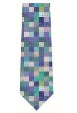 Periodic Table Silk Tie - multi colour