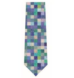 Cravate de soie Tableau périodique - multicolore