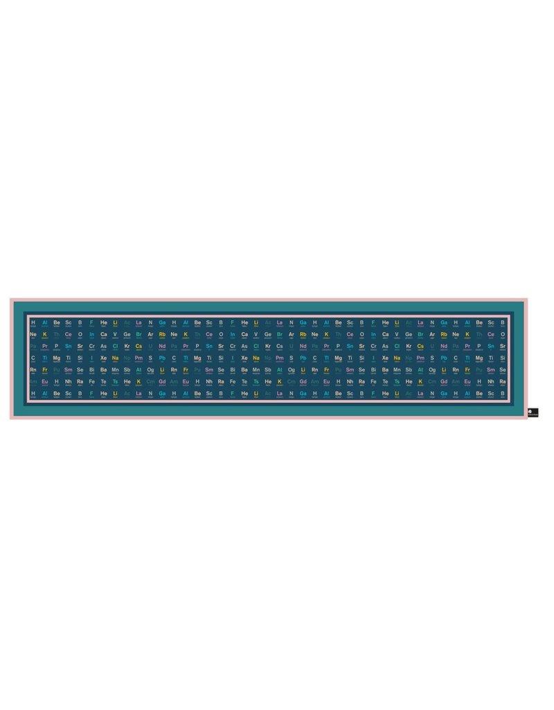 Periodic Table Silk Scarf - Navy