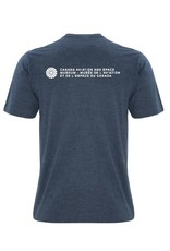 Men's Avro Arrow Distressed T-Shirt - blue