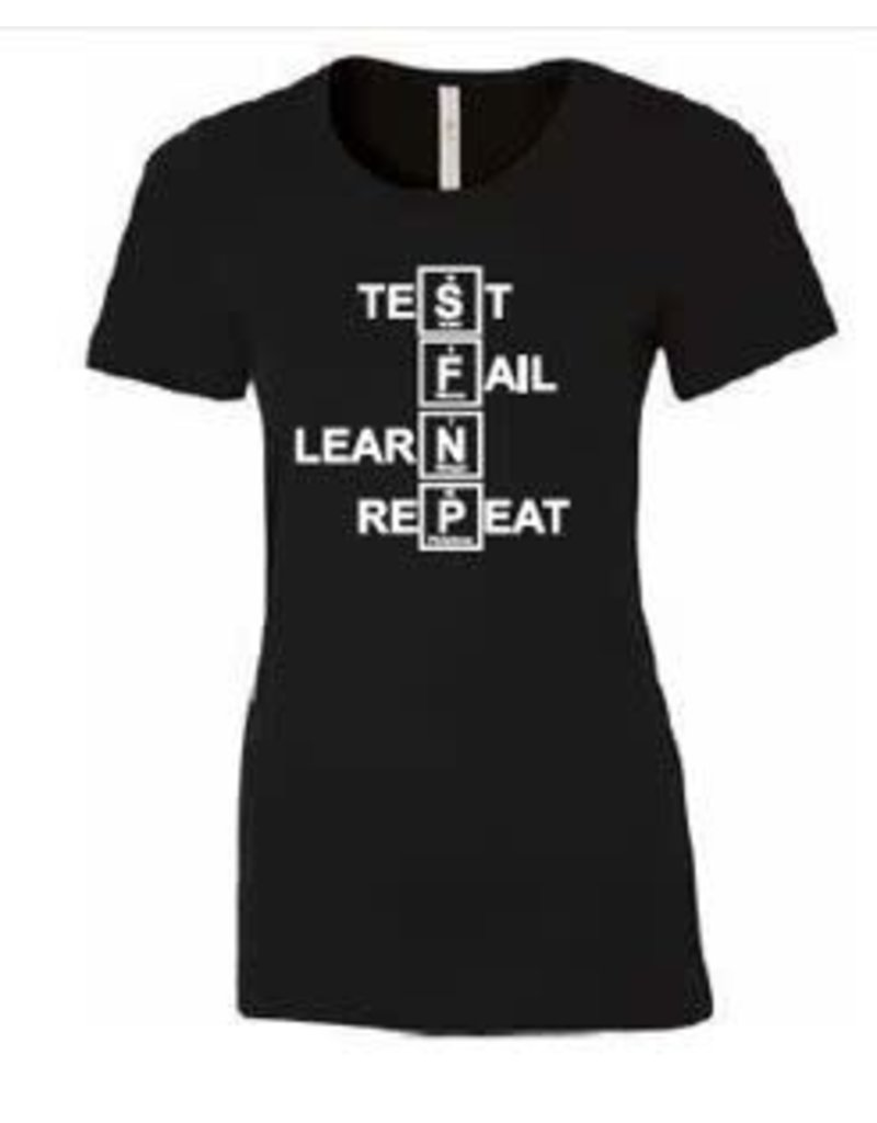 T-shirt TLFR pour femme — Noir