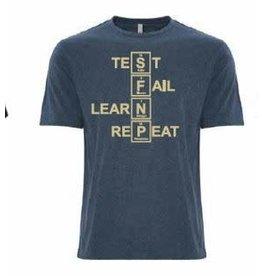 T-shirt TLFR pour homme — Bleu
