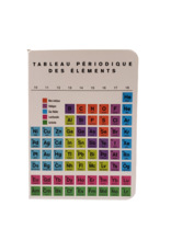Periodic Table Notebook - French