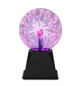 "Boule plasma 8"" mauve"