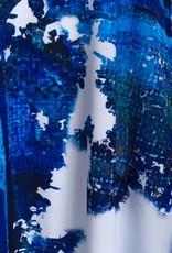 Sympli Trapeze Dress - Digital Blue