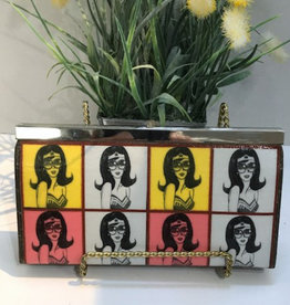 Vintage Wonder Women Clutch Wallet