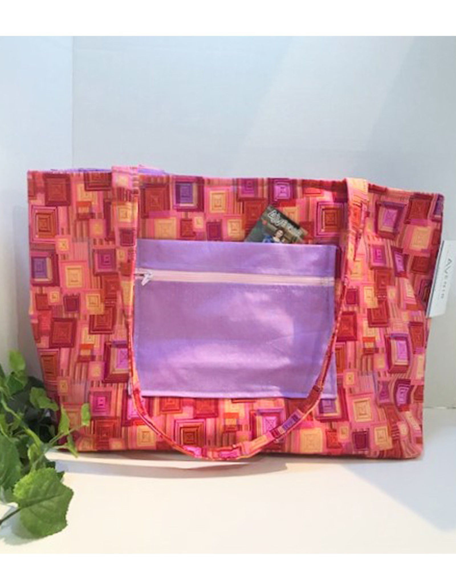 Large Pink Tote Bag - Large