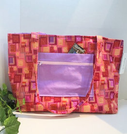 Large Pink Tote Bag