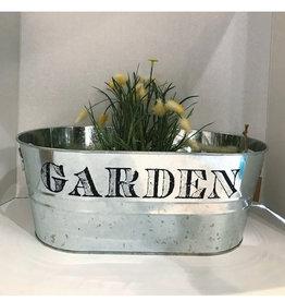 "Tin ""Garden"" Bucket"